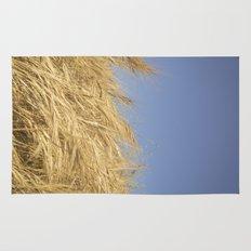 Golden Straw Rug
