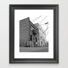South Tacoma architecture Framed Art Print