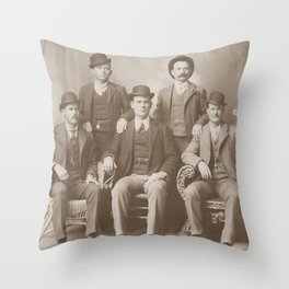 Butch Cassidy - Sundance Kid - Wild Bunch Throw Pillow