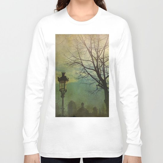 Once pon a time a park in Barcelona Long Sleeve T-shirt