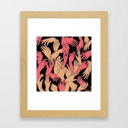 Cruel Angle  Framed Art Print