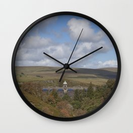 Craig Goch Dam II Wall Clock