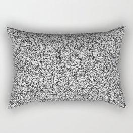 Tv Noise Rectangular Pillow