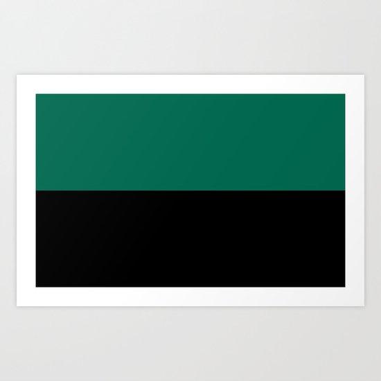 Flag of Texel Art Print