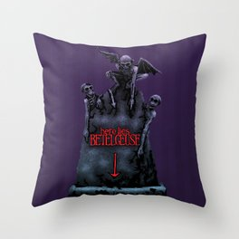 Here Lies Betelgeuse Throw Pillow