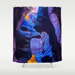 Upon Solitary Expanse Shower Curtain