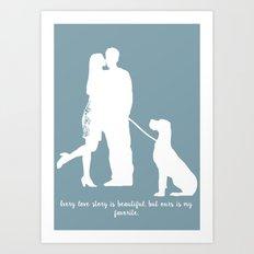 In Love Print Art Print