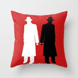 The Wrong Man Throw Pillow