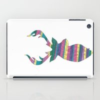 stag iPad Cases featuring Stag  by Kate Allison