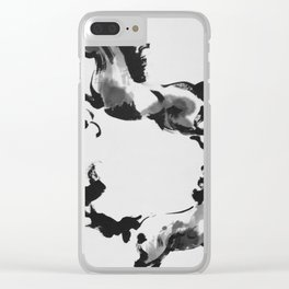 Born wild and forever free. Clear iPhone Case