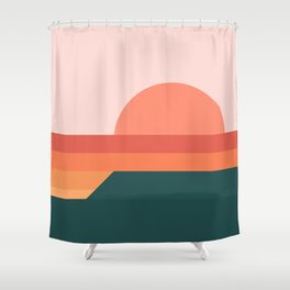 Sunseeker 08 Portrait Shower Curtain