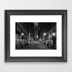 Diamond District Framed Art Print