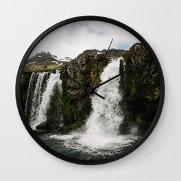 KIRKJUFELLSFOSS Wall Clock