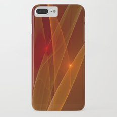 Lights Are Shining, Abstract Fractal Art iPhone 7 Plus Slim Case