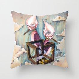 Bird | Purgatory Throw Pillow