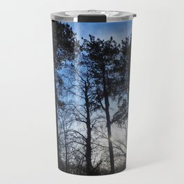 Winter Pine Trees Travel Mug