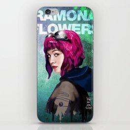 Ramona Flowers iPhone Skin