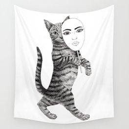 Cat walk Wall Tapestry