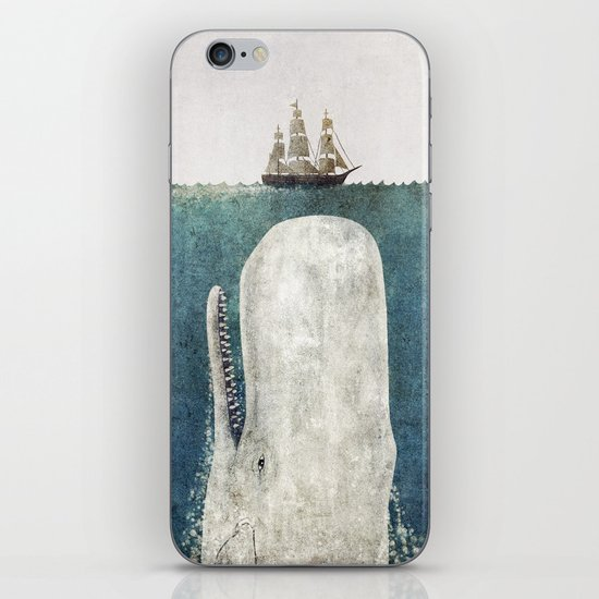 The Whale - vintage  iPhone & iPod Skin