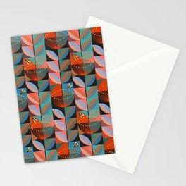 Electric Pohutukawa Stationery Cards