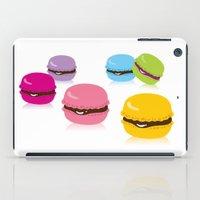 macaron iPad Cases featuring macaron by taichi_k
