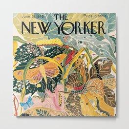 The New Yorker - 06/1945 Metal Print