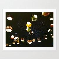 lantern Art Prints featuring Lantern by CHENG ZHI CHIAN