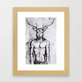 Cervidae Framed Art Print