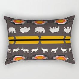 Deer and bears Rectangular Pillow