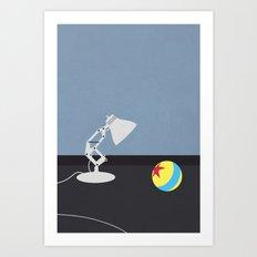 Luxo Jr. Art Print