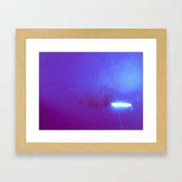 Té psico Framed Art Print