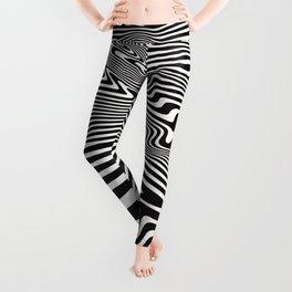Pop Art Abstract Background Leggings