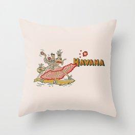 Havana - Warm Throw Pillow