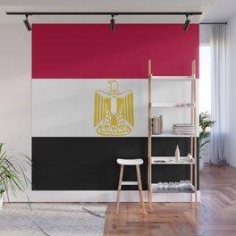 Egypt flag emblem Wall Mural