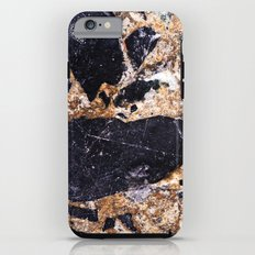 Black and Gold Marble Tough Case iPhone 6