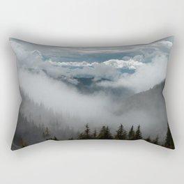Into Wilderness Rectangular Pillow
