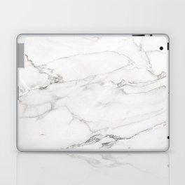 White Marble 006 Laptop & iPad Skin