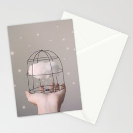 Caged Cloud Stationery Cards