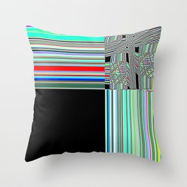 Re-Created Southern Cross XXXII by Robert S. Lee Throw Pillow