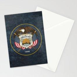 Utah State Flag, Vintage Version Stationery Cards