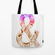 '&' Tote Bag