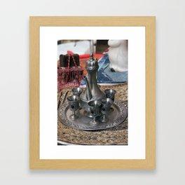 Dallah Framed Art Print