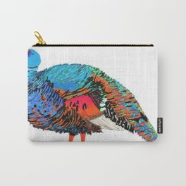 PeaHen & Cassowaries Carry-All Pouch