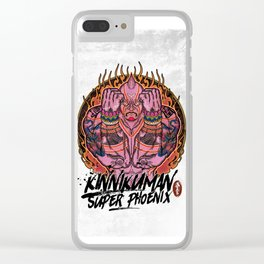 Muscle man#02 Clear iPhone Case