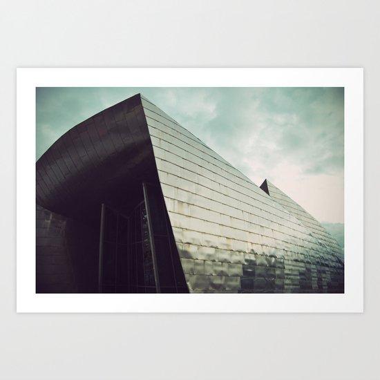 Guggenheim Museum Bilbao Art Print