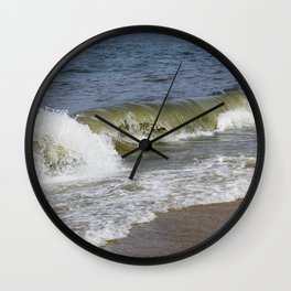 Raging Wave Wall Clock