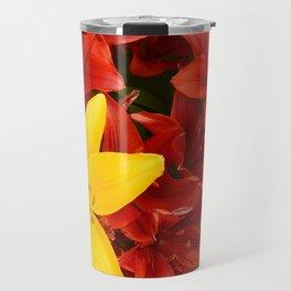 """A Gathering of Lilies"" - 1 [D4465~12] Travel Mug"
