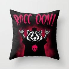 Raccoon! Throw Pillow