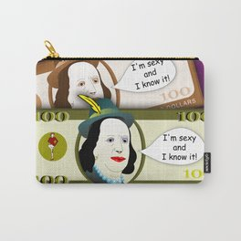 Sexy and I Know It! Carry-All Pouch