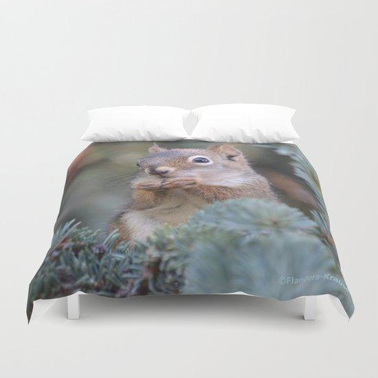 Mr. Squirrel ~ I Duvet Cover